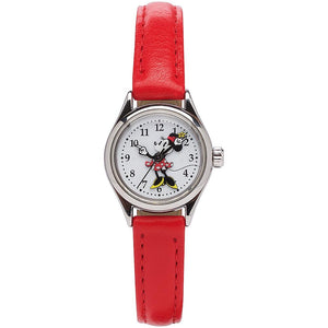 Disney Original Minnie Mouse Petite Red Watch