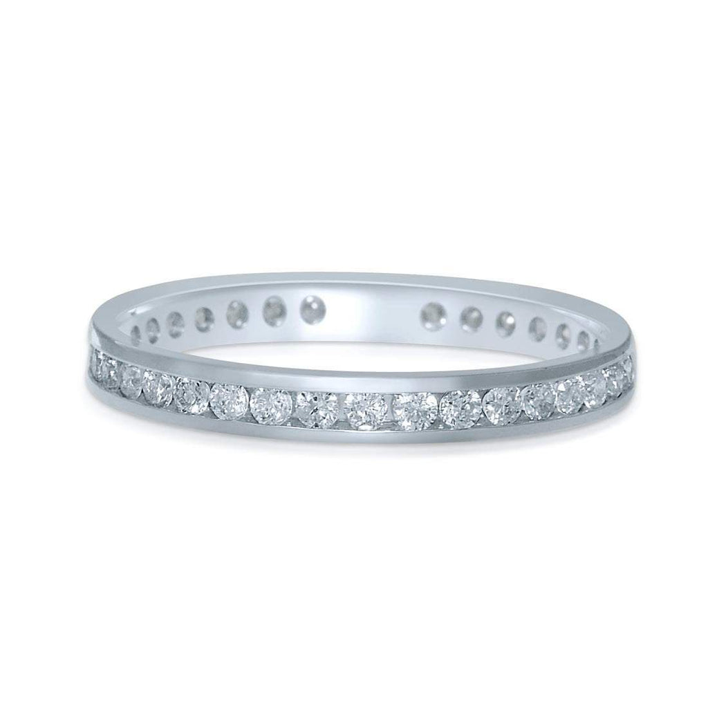 18ct White Gold 0.50ct Diamond 'Circle of Love' Ring