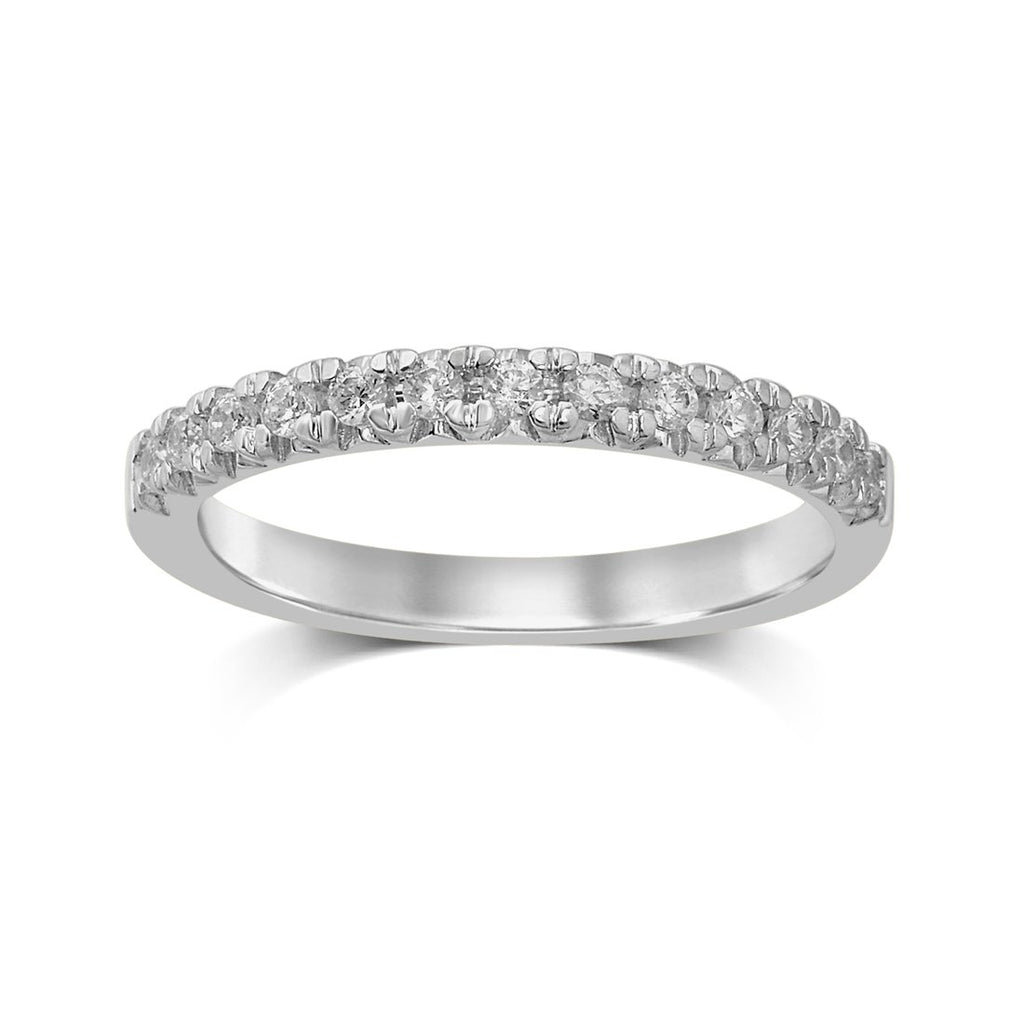 9ct White Gold 0.28ct Diamond Eternity Ring