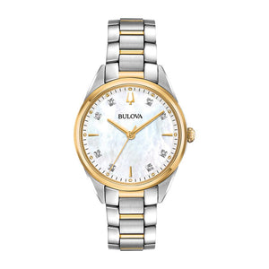 Bulova Women's Diamond Watch  SSTT WR