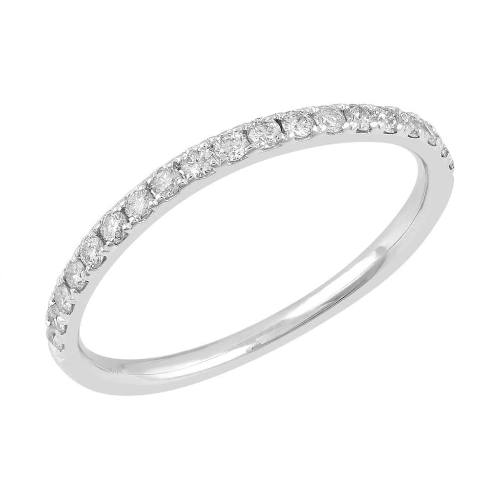 Love by Michelle 18ct White Gold 0.20 ct Diamond Ring Rings Bevilles