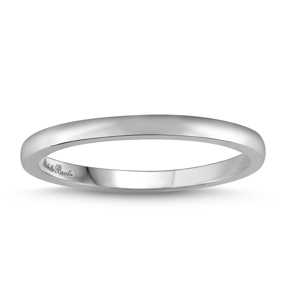 Love by Michelle Beville Eternity Ring in 18ct White Gold Rings Bevilles