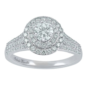Love by Michelle Beville 18ct White Gold 0.92ct Diamond Ring