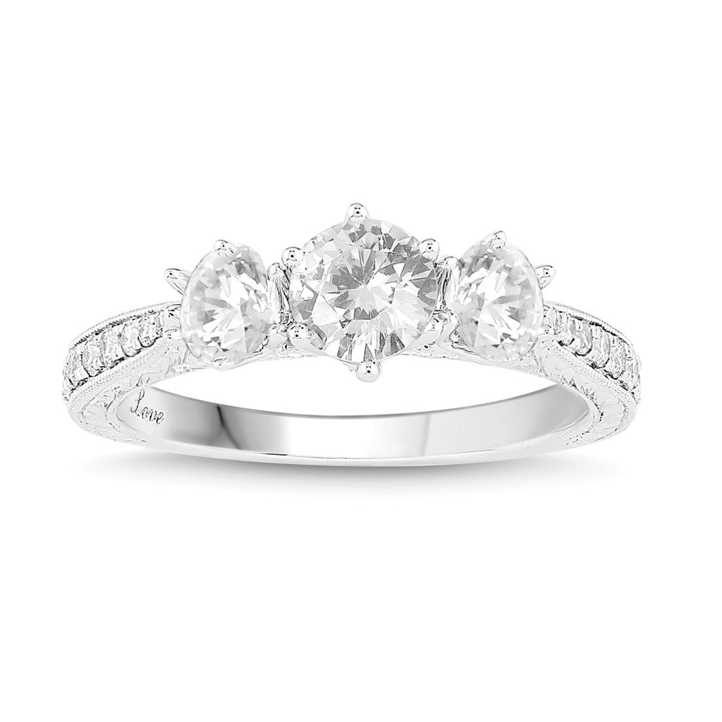 Facets of Love 18ct White Gold Ring with 1.00ct of Diamonds