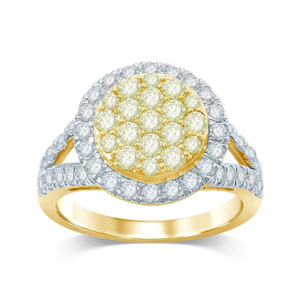 18ct Yellow Gold 1.60ct Diamond Ring