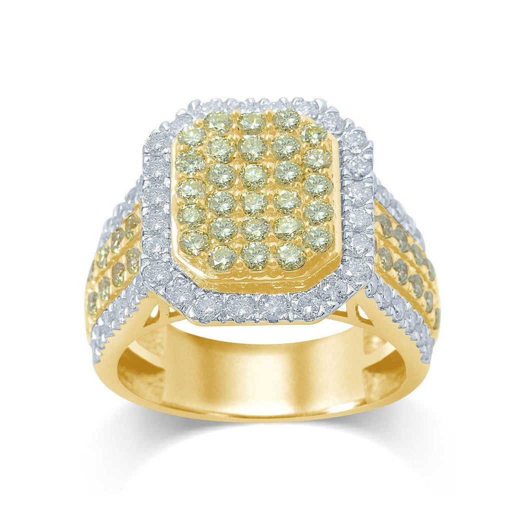 18ct Yellow Gold 2.33ct Diamond Ring