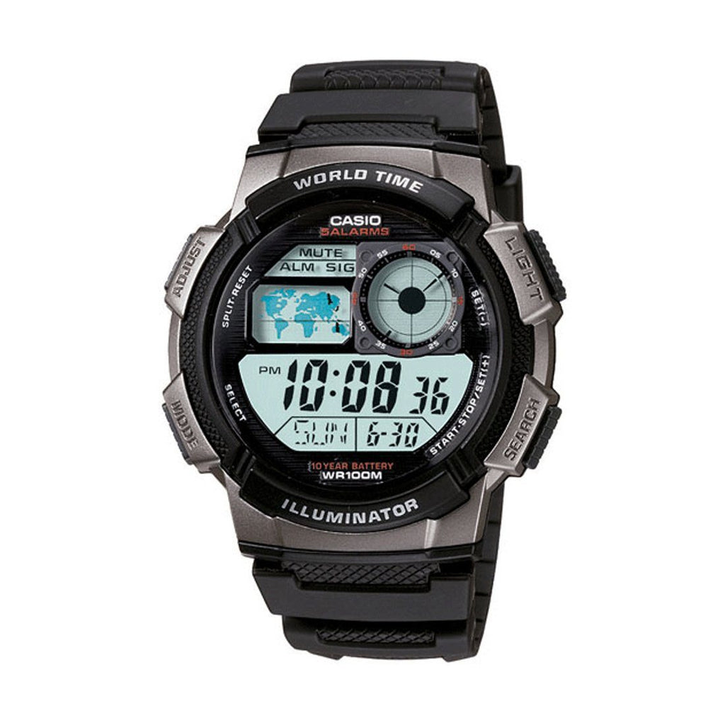 Casio Mens Digital Watch AE1000W-1BV