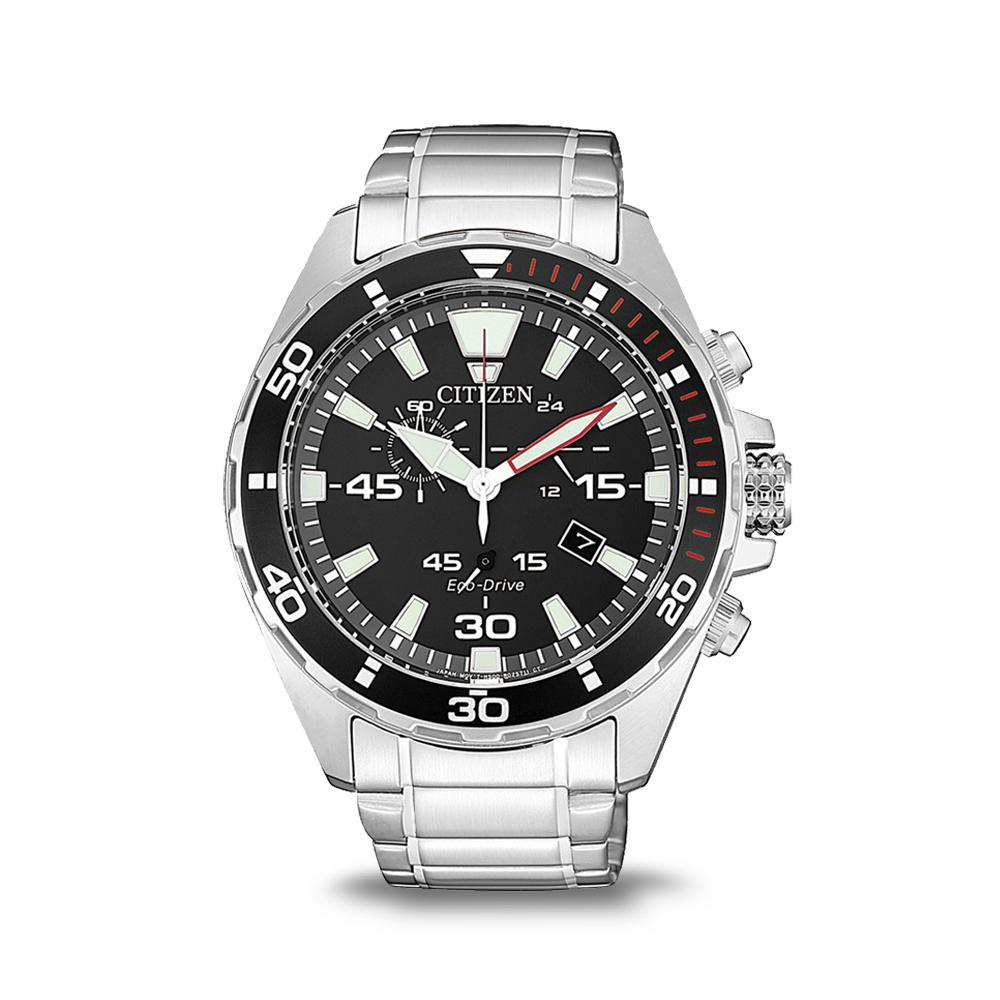 Citizen Mens Eco-Drive Brlt SSWP WR100