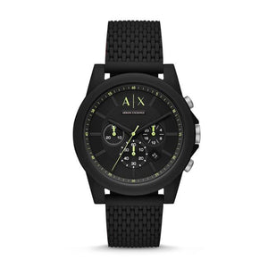 Armani Exchange Black Chronograph Watch