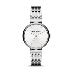 Armani Exchange Zoe Silver Ladies Watch AX5900