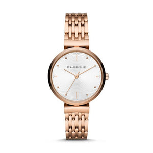 Armani Exchange Zoe Rose-Gold Tone Ladies Watch AX5901