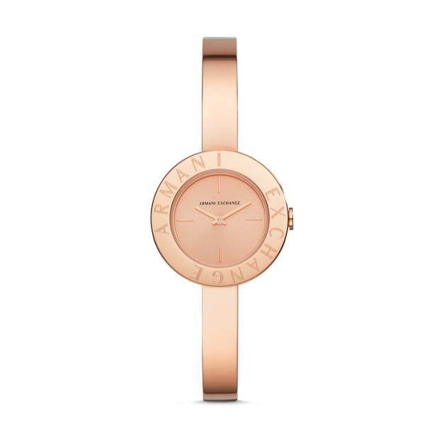 Armani Exchange Giulia Rose Gold-Tone Ladies Watch AX5905 Watches Armani Exchange