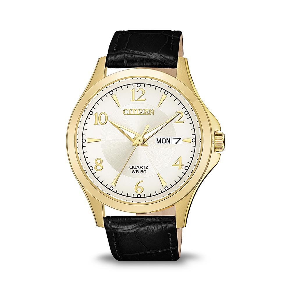 Citizen Mens Gold Watch BF2003-25A Watches Citizen