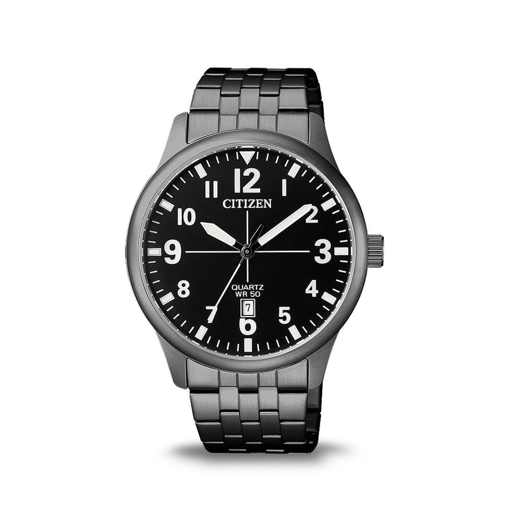 Citizen Mens Black Watch BI1055-52E Watches Citizen