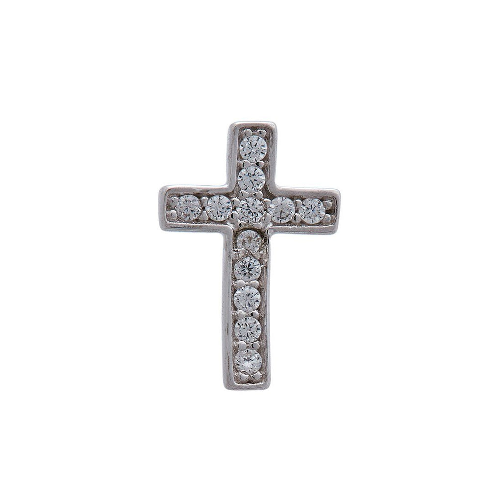 Children's Cross Earrings in Sterling Silver Earrings Bevilles