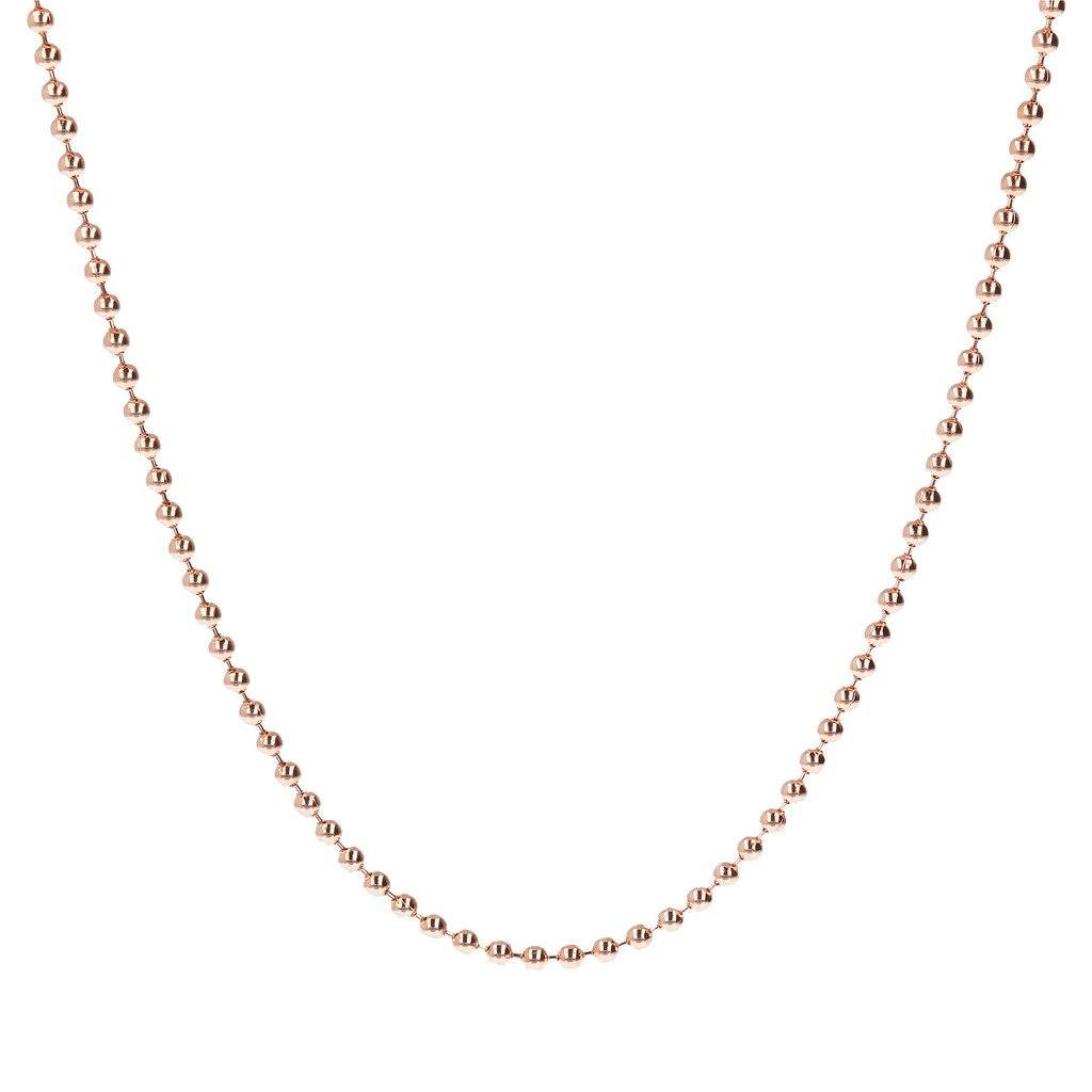 Bronzallure Bead Link Chain For Charms Necklaces Bronzallure One Size