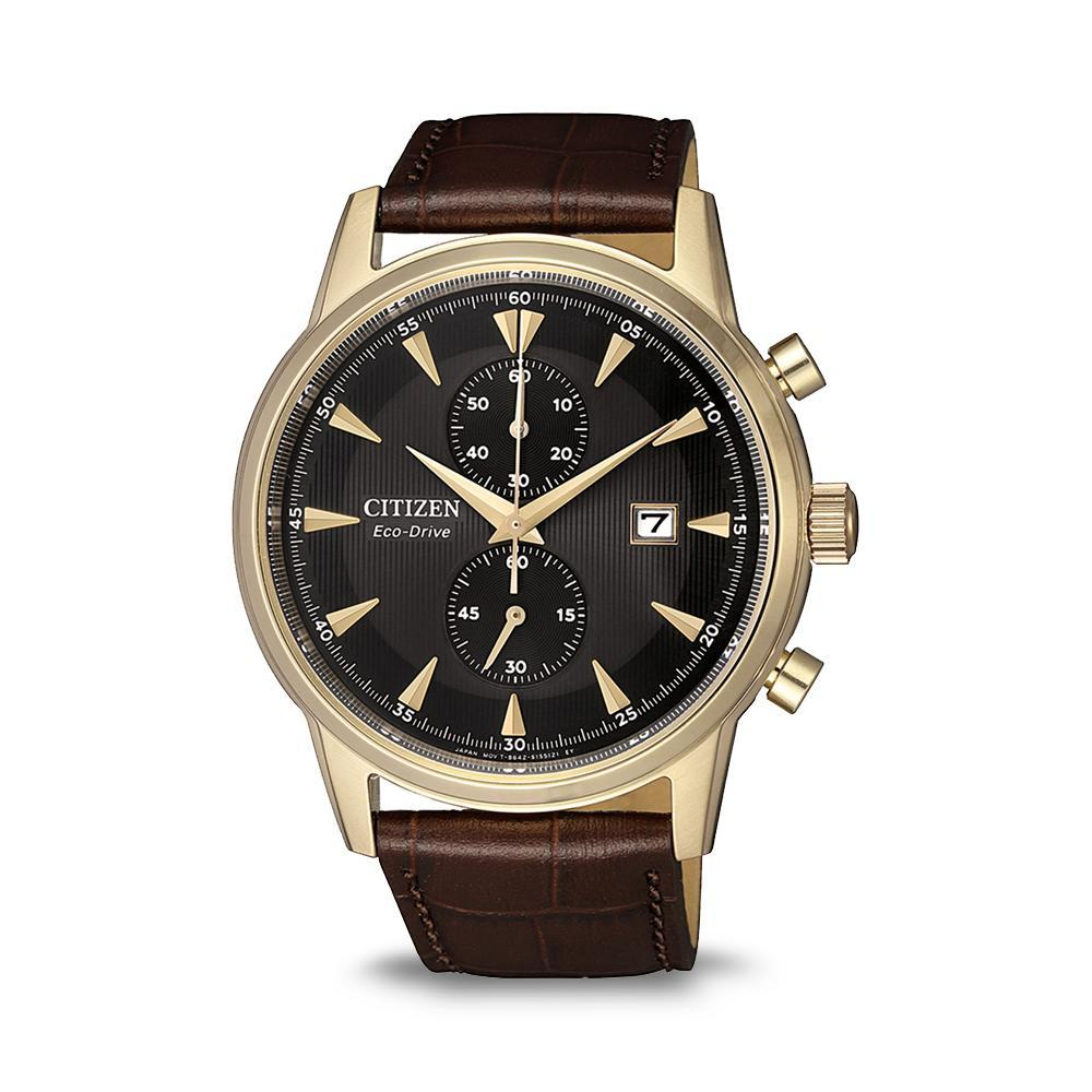 Citizen Mens Eco-Drive Chronograph CA7008-11E Watches Citizen