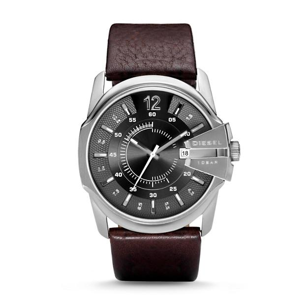 Diesel Mega Chief Brown Analogue Watch-DZ1206 Watches Diesel