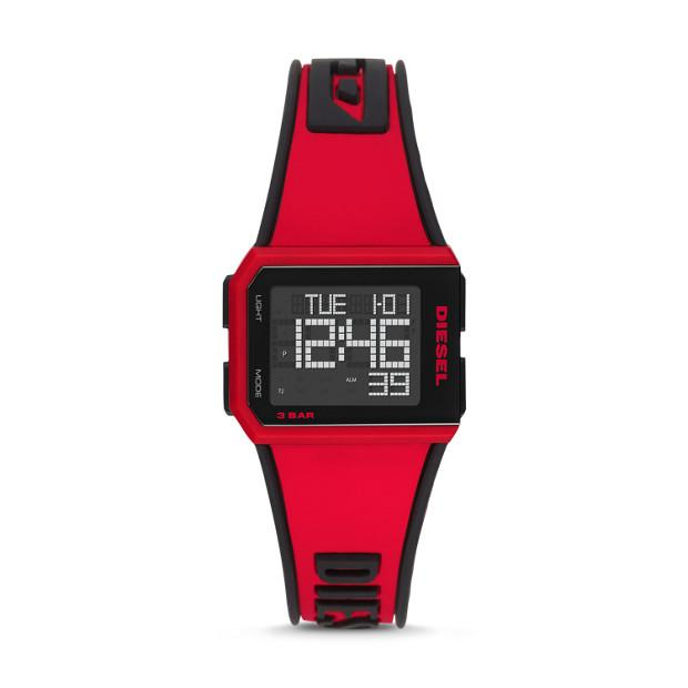Diesel Chopped Red Watch-DZ1923 Watches Diesel