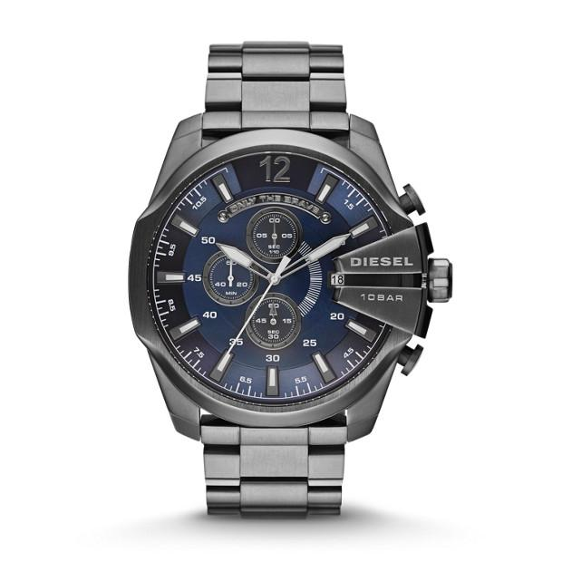 Diesel Mega Chief Grey Chronograph Watch-DZ4329 Watches Diesel