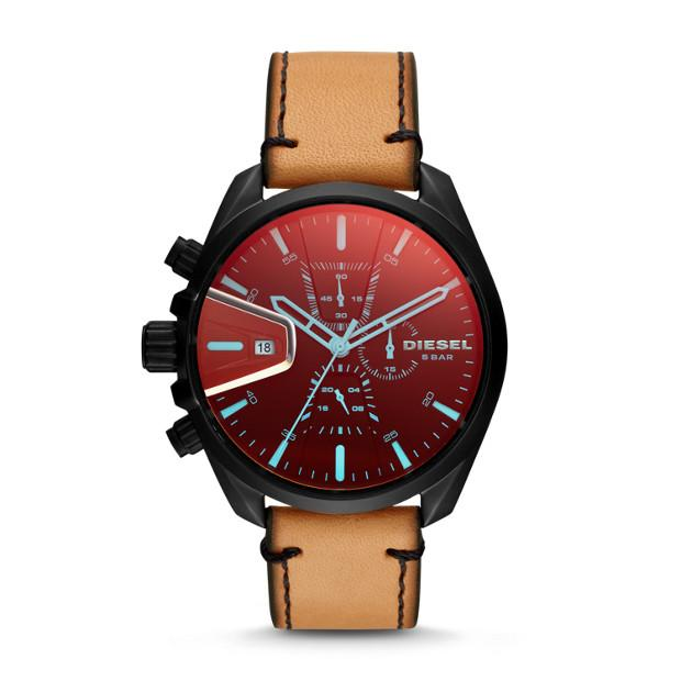 Diesel MS9 Chrono Brown Chronograph Watch-DZ4471 Watches Diesel