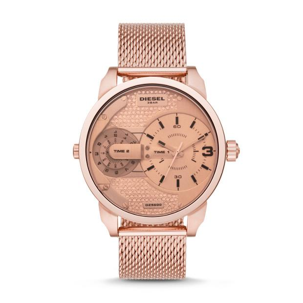 Diesel Mens Mini Daddy Rose Gold Watch-DZ5600 Watches Diesel