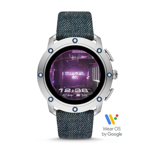 Diesel Axial Blue Smartwatch-DZT2015 Watches Diesel