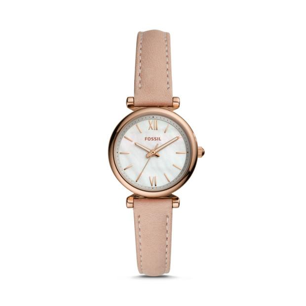 Fossil Carlie Mini Nude Analogue Watch ES4699 Watches Fossil