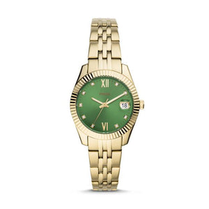 Fossil Scarlette Mini Gold-Tone Analogue Watch