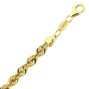 9ct Yellow Gold Silver Infused Triple Row Necklace 55cm