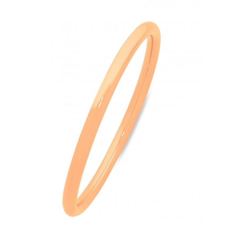 9ct Rose Gold Silver Infused Golf Bangle