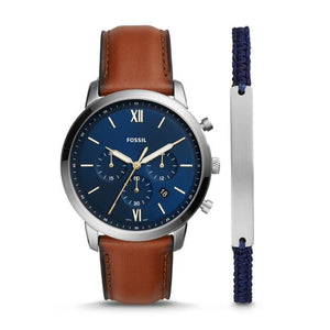 Fossil Neutra Brown Chronograph Watch