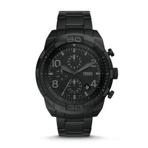 Fossil Bronson Black Chronograph Watch