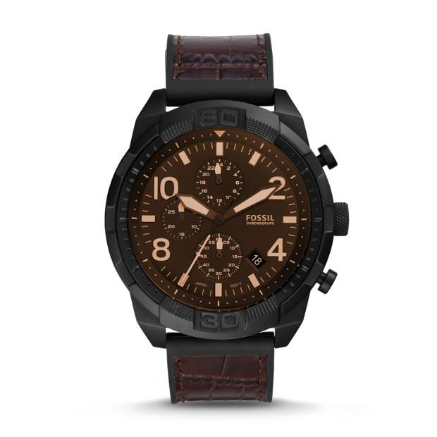 Fossil Bronson Two Tone Chronograph Watch Watches Fossil