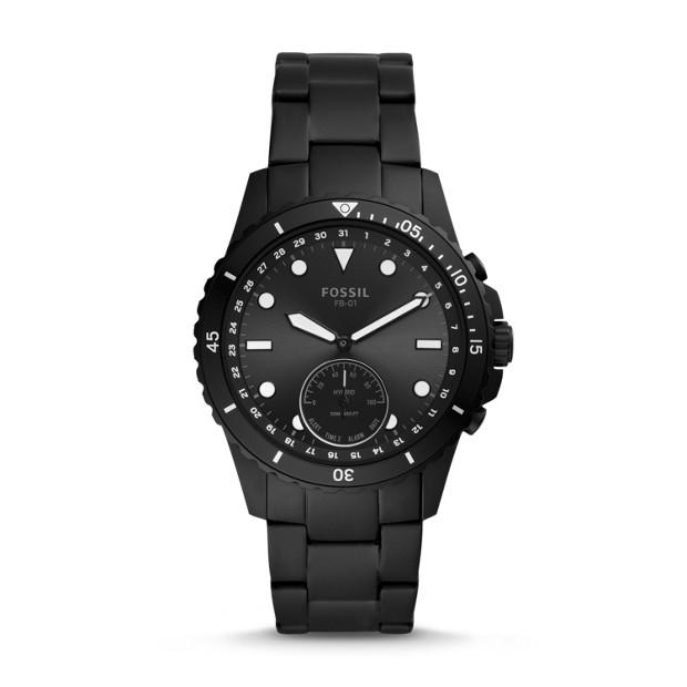 Fossil FB-01 Black Smartwatch FTW1196 Watches Fossil