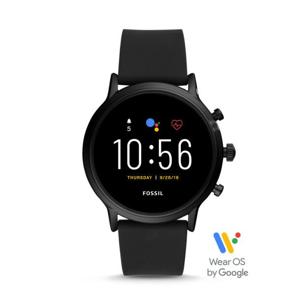 Fossil The Carlyle HR Black Smartwatch-FTW4025 Watches Fossil