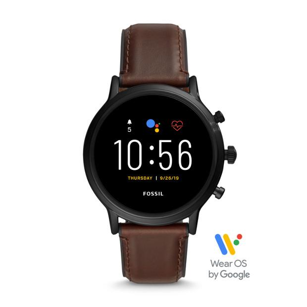 Fossil The Carlyle HR Brown Smartwatch-FTW4026 Watches Fossil