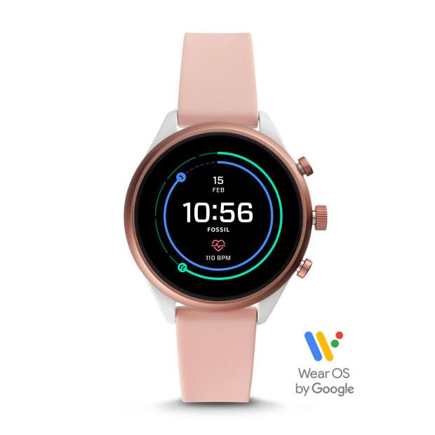 Fossil Sport 41 Beige Smartwatch-FTW6022 Watches Fossil