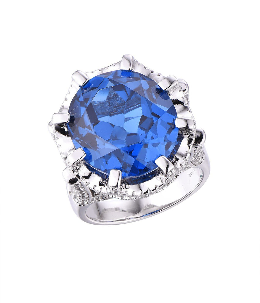 Gina Liano Blue Stone Ring Rings Bevilles