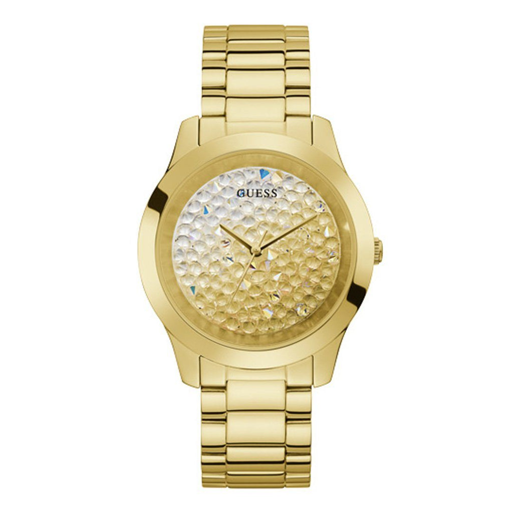 Guess Crush Gold Tone Stainless Steel Watch GW0020L2
