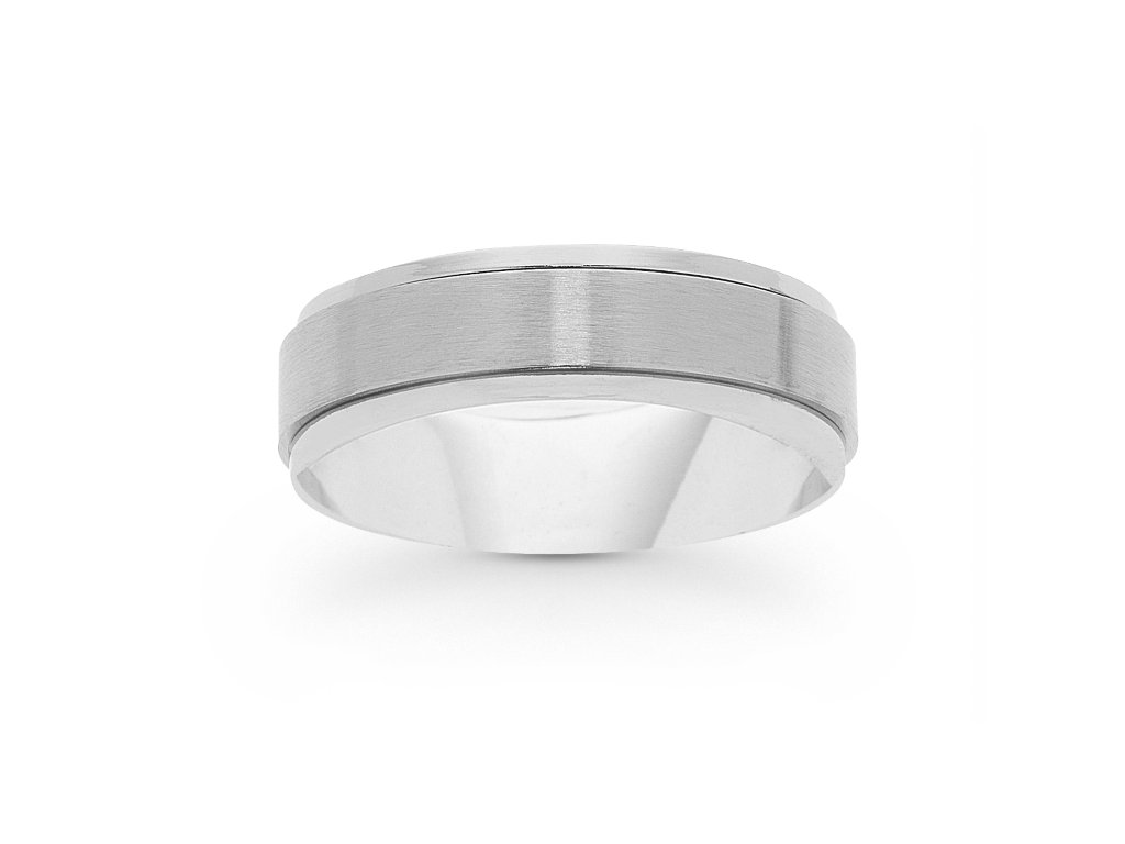 Stainless Steel Mens Ring Rings Bevilles