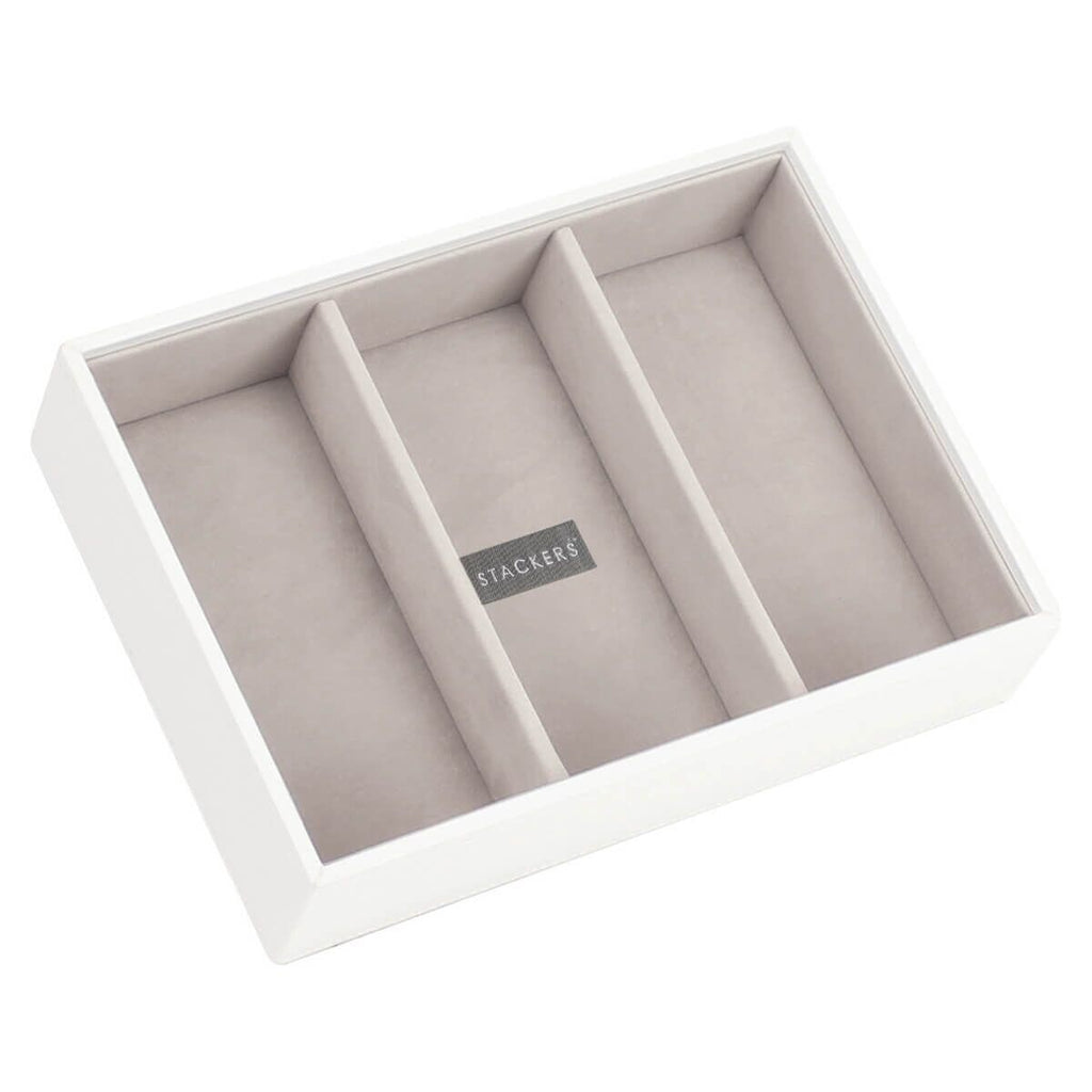 Stackers Classic 3 Deep Compartment Layer Jewellery Boxes Stackers