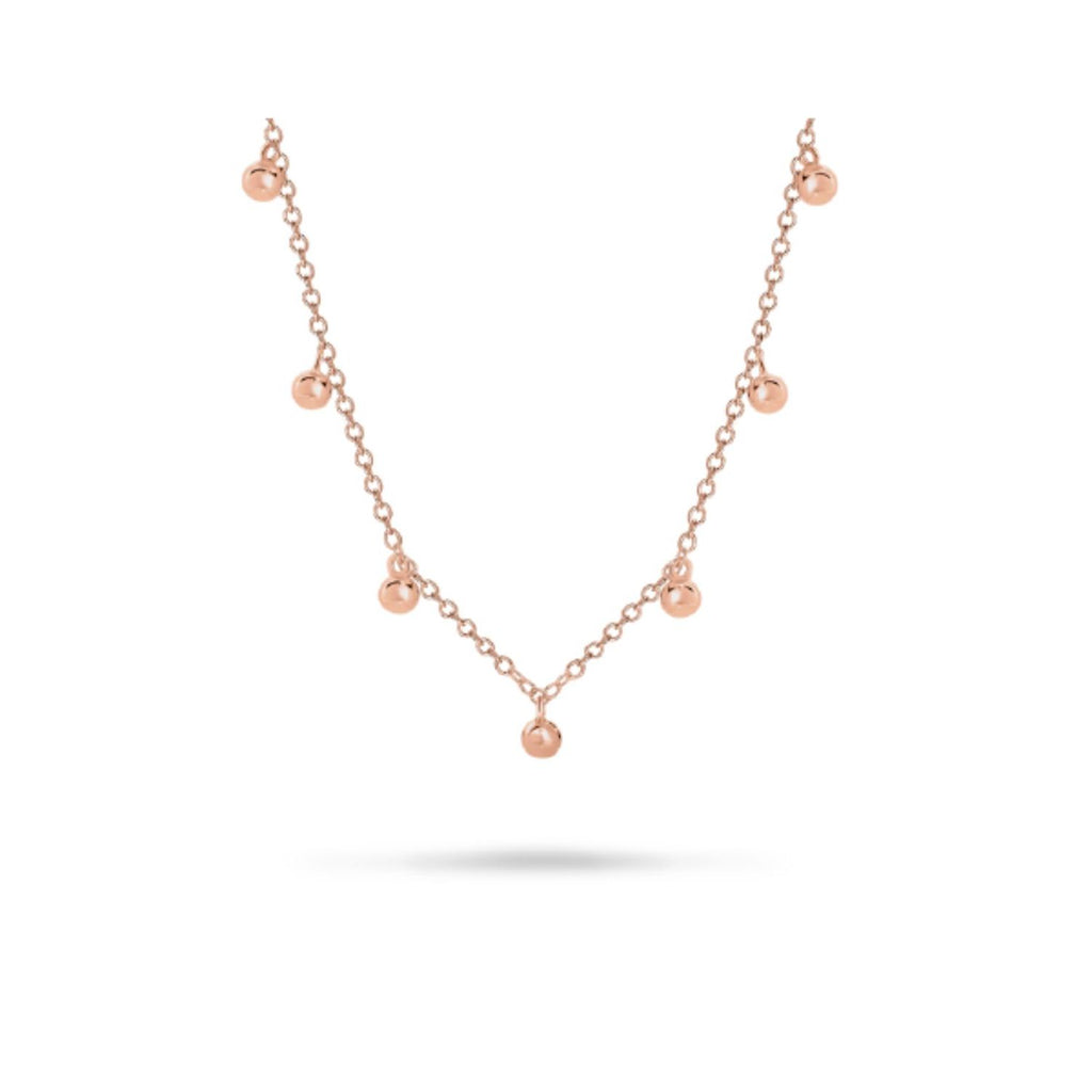Georgini Bond Rose Gold Necklace Necklaces Georgini