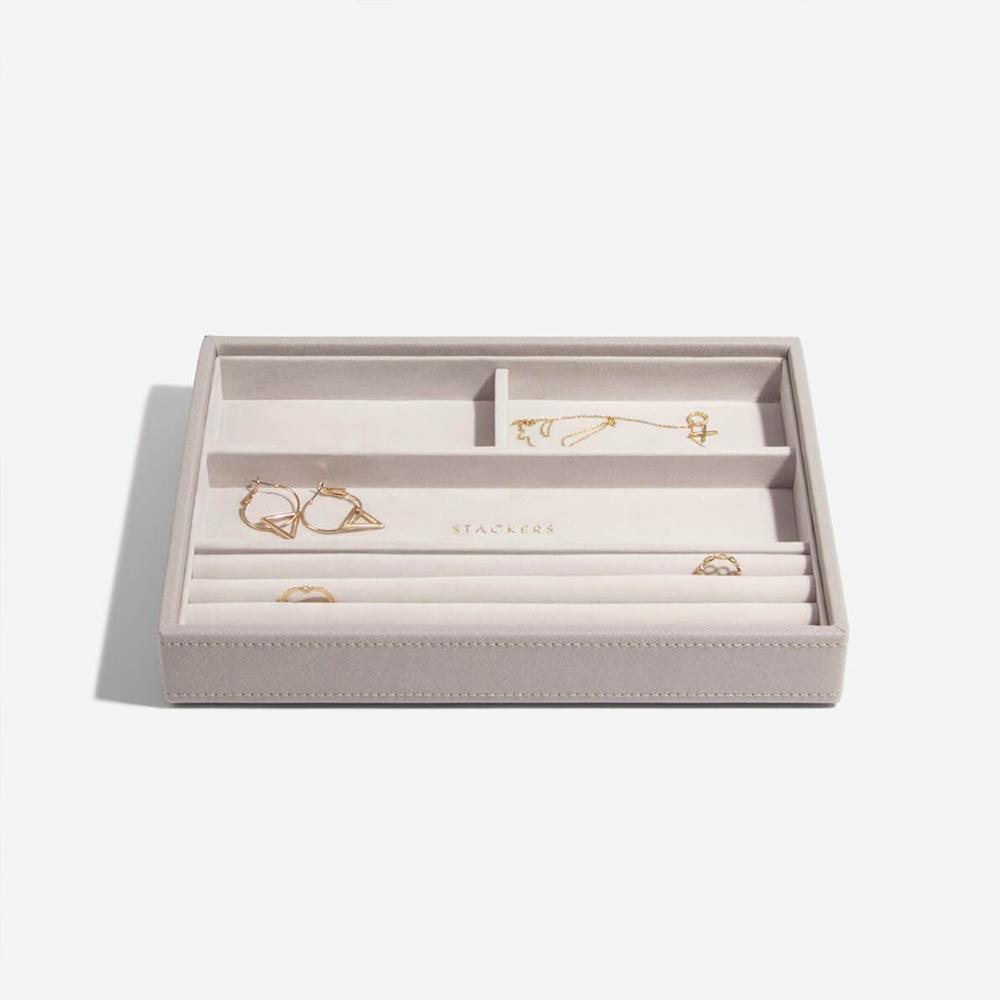 Stackers Classic 4 Compartment Layer Jewellery Boxes Stackers