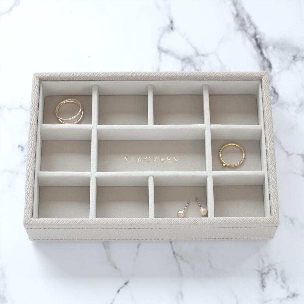 Stackers Mini 11 Compartment Layer Jewellery Boxes Stackers