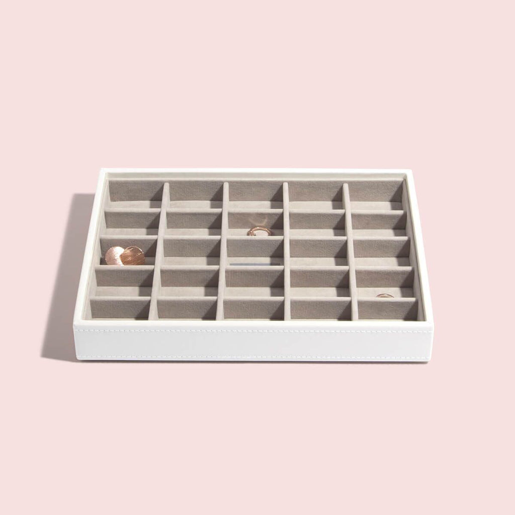 Stackers Classic 25 Compartment Layer (Holds Rings, Earrings & Cufflinks)