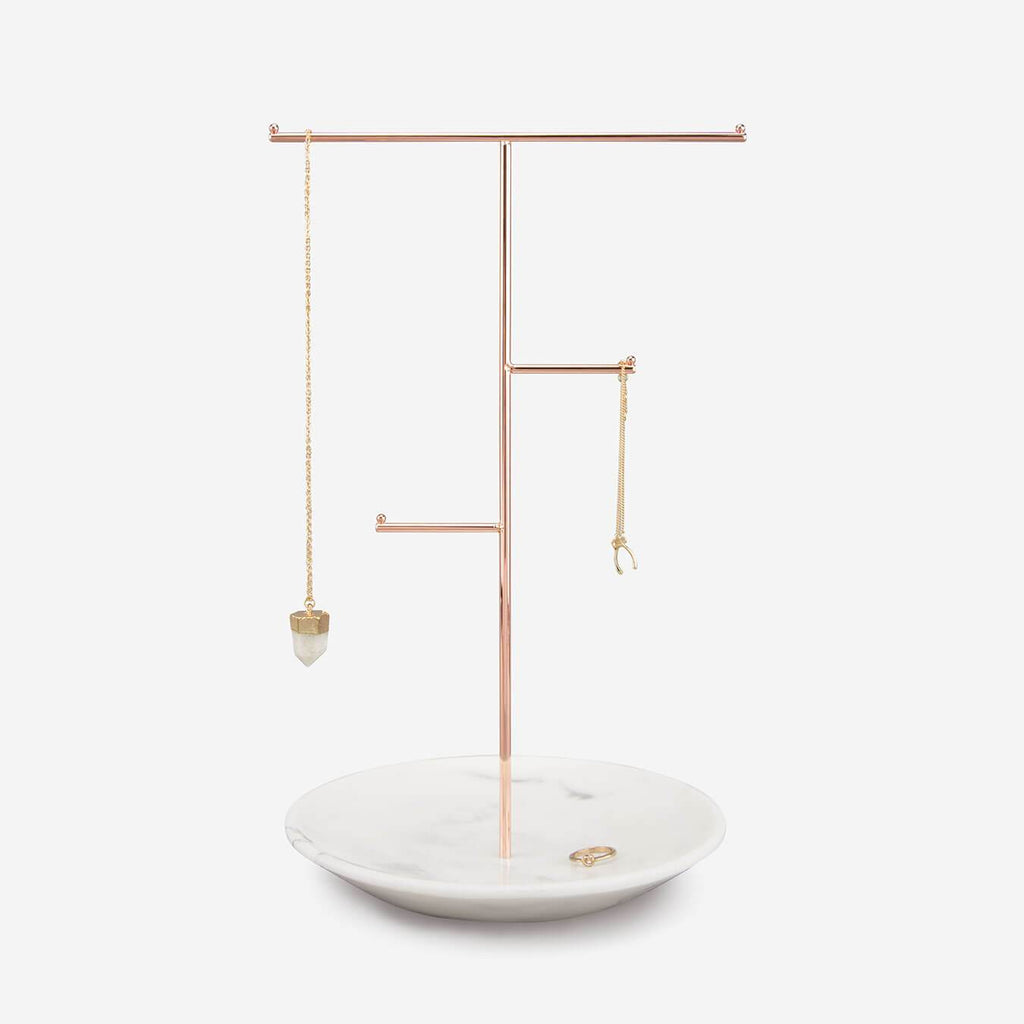 Stackers Marble Jewellery Hanger