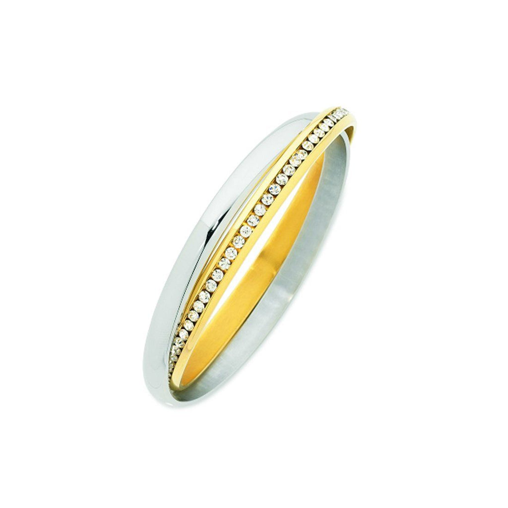 Stainless Steel Russian Bangle Bracelets Bevilles