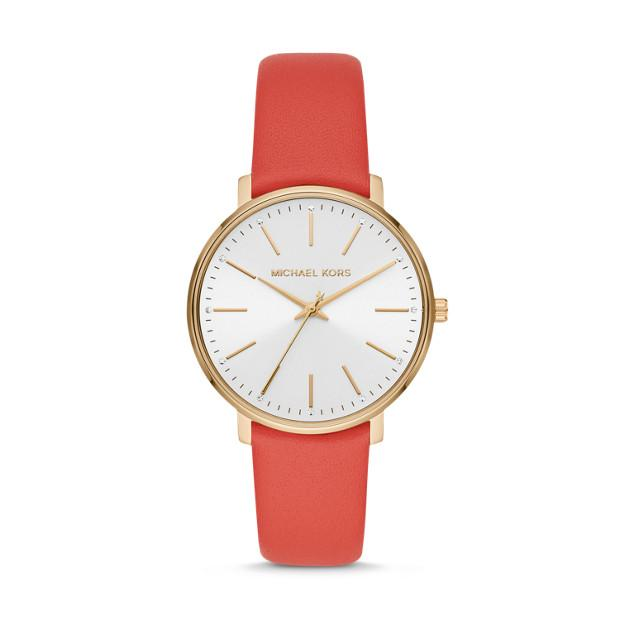 Michael Kors Pyper Red Analogue Watch MK2892 Watches Michael Kors