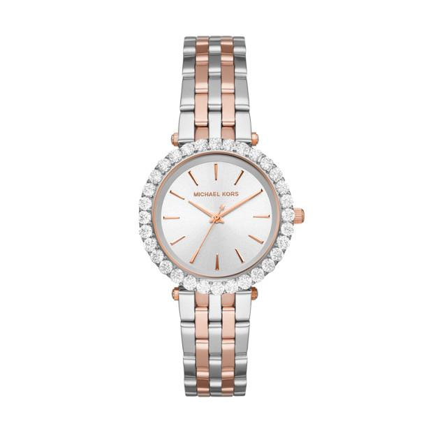 Michael Kors Darci Two Tone Analogue Watch Watches Michael Kors